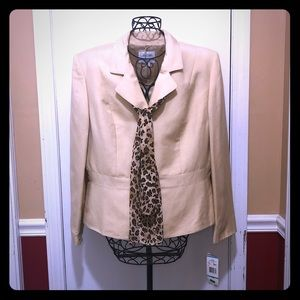 Jackets & Blazers - Leopard Print Business or Dressy Suit